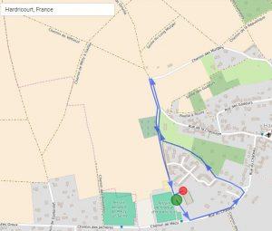 Course jeunes 1.5 km